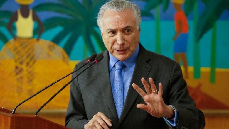 Justiça autoriza ida de Michel Temer ao Líbano e o ex presidente comandará a missão de ajuda do governo Brasileiro