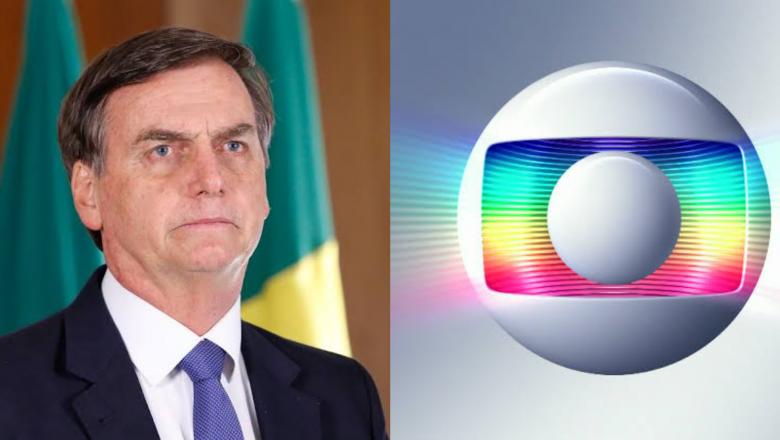 """Bolsonaro sobe o tom e retruca Globo: """"Mente porque perdeu BILHÕES em verbas publicitárias"""""""
