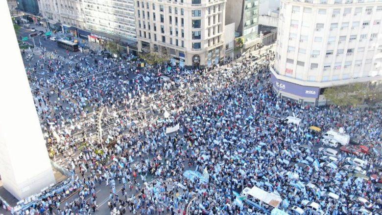 Argentina registra novos protestos contra o governo de Alberto Fernández