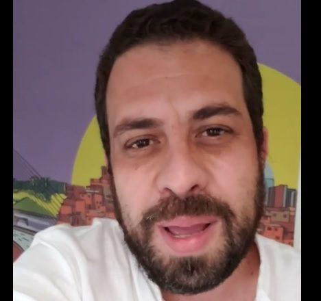 Boulos admite que 'live' barrada pela Justiça é showmício