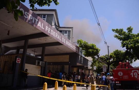 Hospital de Bonsucesso suspende atendimentos e passará por reforma