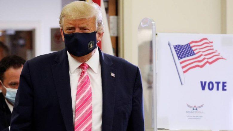 Trump vota antecipadamente em eleição presidencial nos EUA