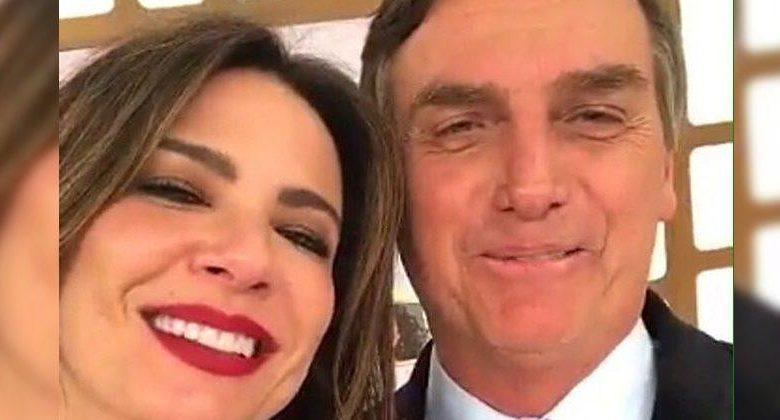 Apresentadora da RedeTV diz que nunca viu Bolsonaro 'desrespeitar' gays