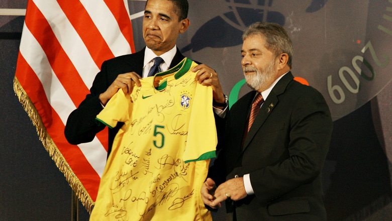 Barack Obama compara Lula a chefão do crime