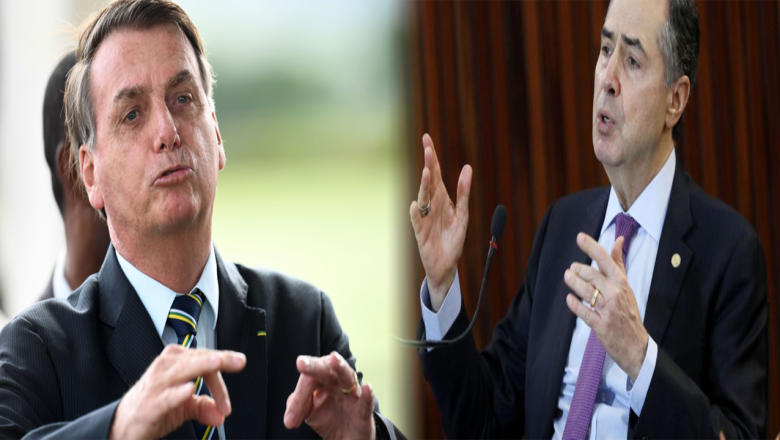 """Barroso rebate Bolsonaro e afirma que """"não existe no Brasil a possibilidade de voto impresso"""""""
