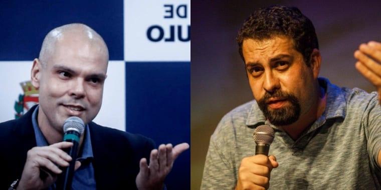 Boulos acusa Covas de cometer crime eleitoral em entrega de cestas básicas