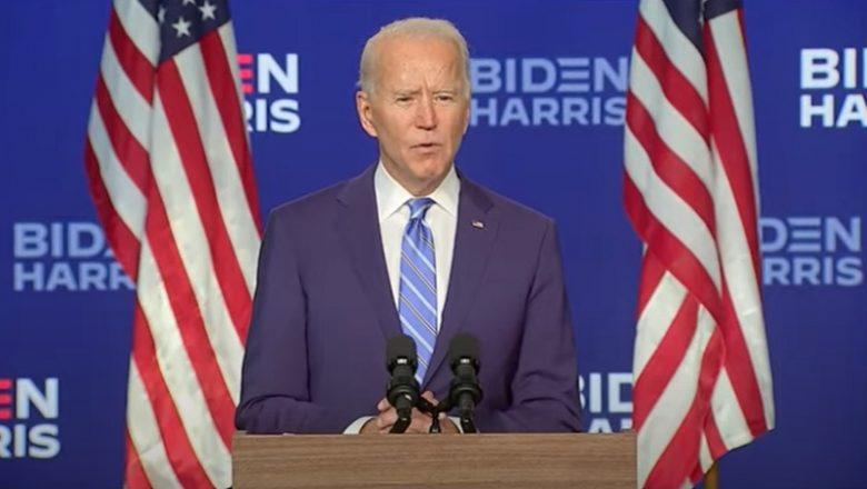 'Cada voto deve ser contado', pede Joe Biden