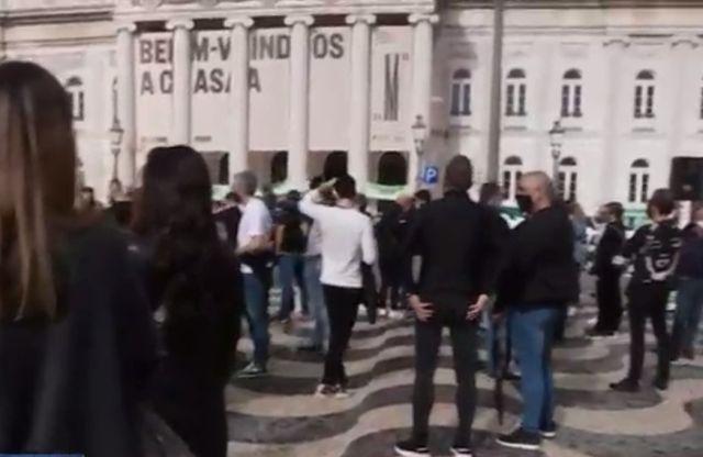 Donos de bares e restaurantes de Lisboa protestam contra restrições
