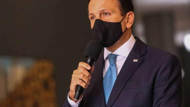 Doria afirma que Coronavac pode ser aplicada no Brasil mesmo sem aval da Anvisa