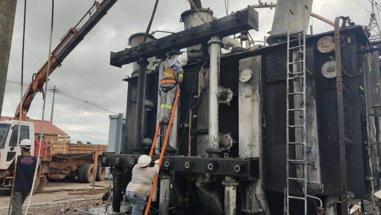 Em laudo inicial, Polícia descarta que raio tenha causado incêndio que provocou apagão no Amapá