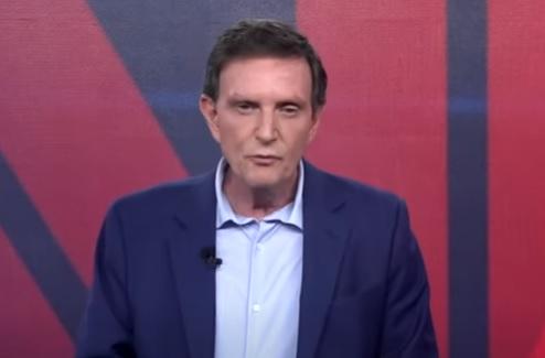 Na TV, Crivella critica 'Globolixo' e Ibope