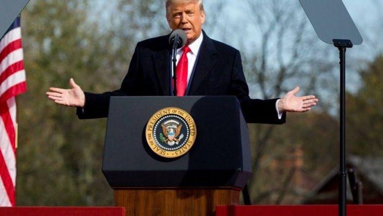 Trump: 'O tempo dirá' quem venceu a eleição nos EUA