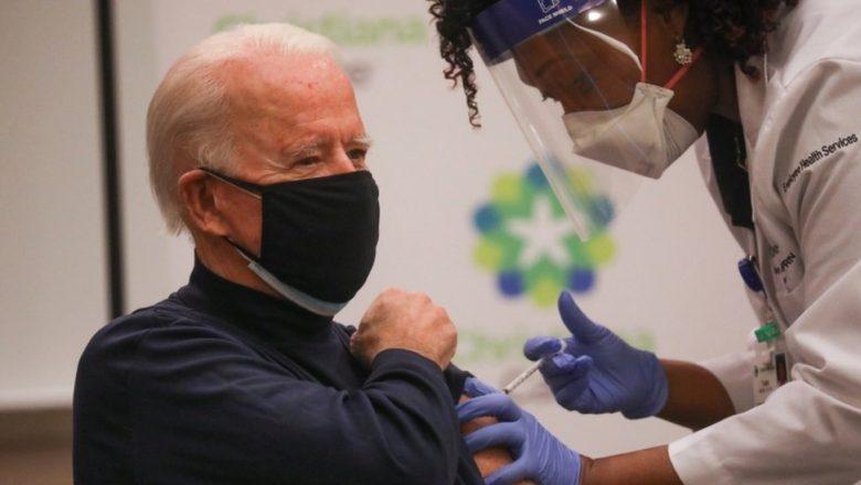 Ao vivo, presidente eleito dos Estados Unidos toma vacina contra o novo vírus