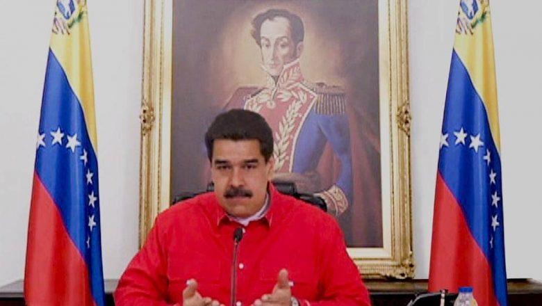 Maduro culpa 'sanções criminais' por covid-19 na Venezuela
