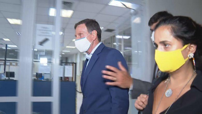 Presidente do STJ concede prisão domiciliar a Crivella e define uso de tornozeleira
