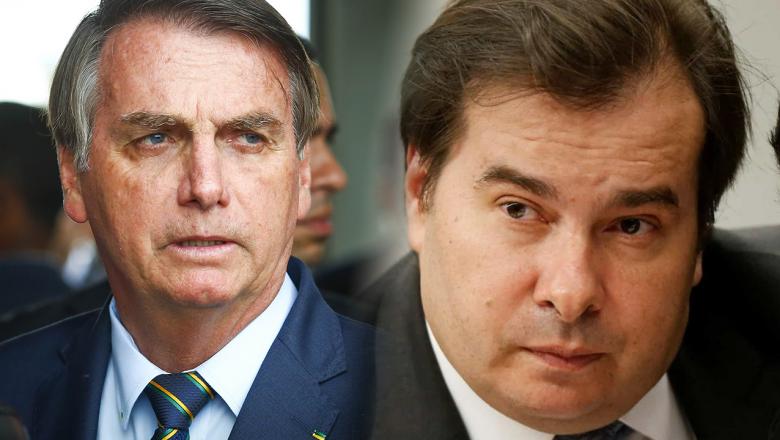 """Rodrigo Maia toma as dores de Dilma e diz que """"Bolsonaro não tem dimensão humana"""""""
