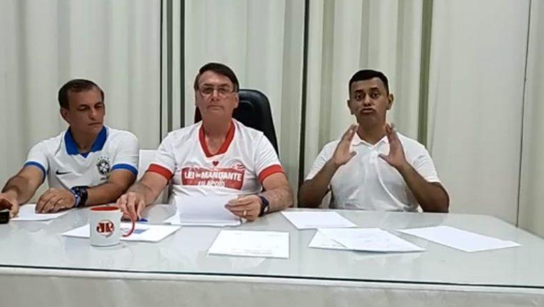 Bolsonaro diz que Brasil pode comprar vacina da Moderna