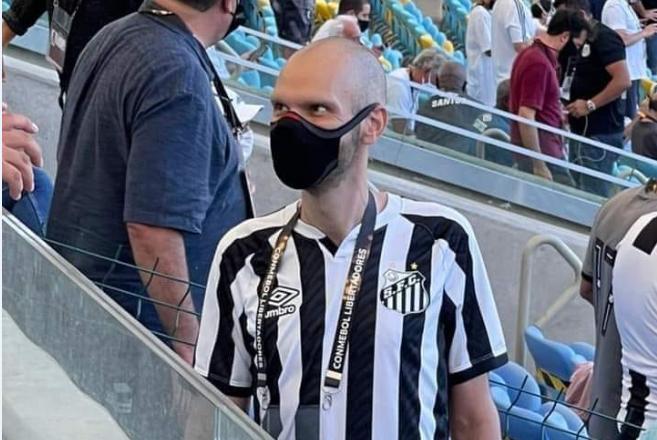 Bruno Covas é visto no jogo da final da Libertadores, no Maracanã