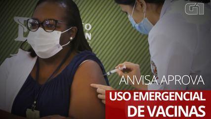 Doria x Pazuello: após aprovação de uso de vacinas pela Anvisa, governador de SP e ministro da Saúde trocam acusações – G1