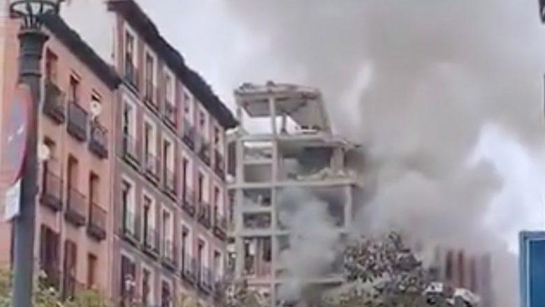 Explosão em Madri deixa 3 mortos e 11 feridos