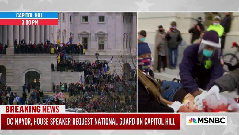 Mulher é baleada durante invasão de manifestantes pró-Trump ao Capitólio, em Washington, diz imprensa
