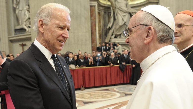 Papa envia mensagem a Biden e pede que ele promova reconciliação