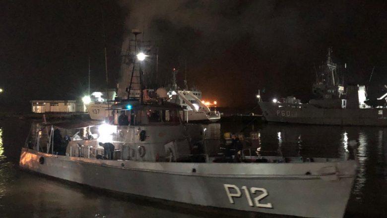 Tanque com 90 mil m³ de oxigênio líquido é escoltado por Navio da Marinha até Manaus