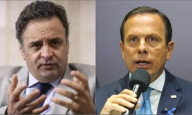 "Aécio responde Doria sobre pedido de afastamento: ""destempero"" e ""arroubos autoritários"""