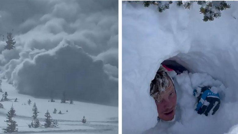 Amigos sobrevivem a avalanche ocorrida em Utah