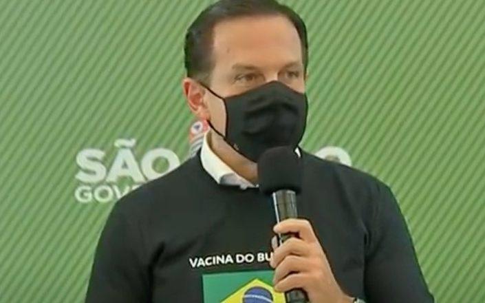 Doria não cumpre promessa e suspende envio de 50 mil doses da CoronaVac ao Amazonas