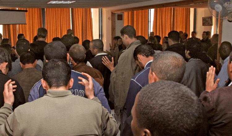 Igrejas permanecem fechadas na Argélia