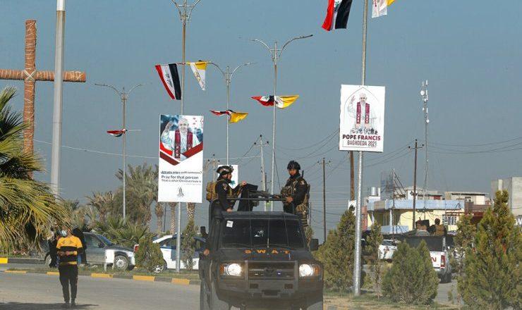 Os cristãos que lutam no Iraque esperam um impulso com a visita do Papa Francisco