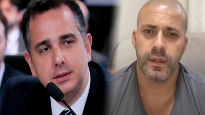"""Presidente do Senado se posiciona contra prisão de Daniel Silveira:""""prender sem julgar é exceção"""""""