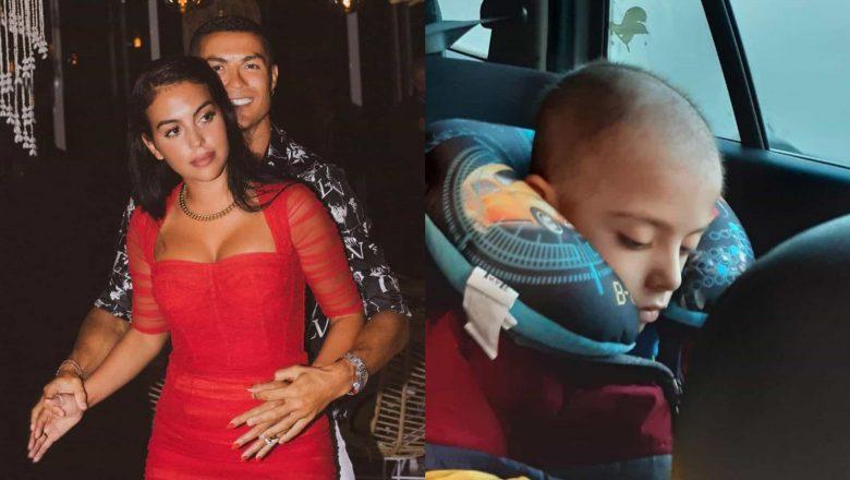 Ronaldo e Georgina Rodríguez financiam tratamento de criança com câncer