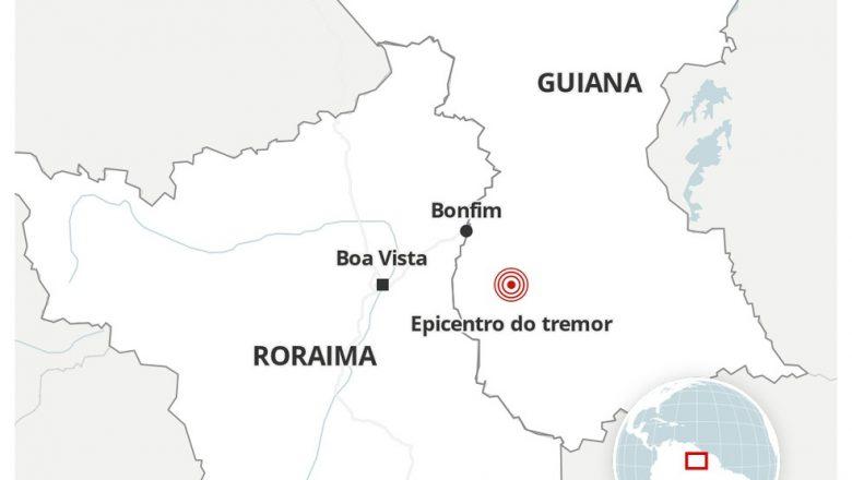 Terremoto atinge a Guiana e é sentido na região Norte do Brasil