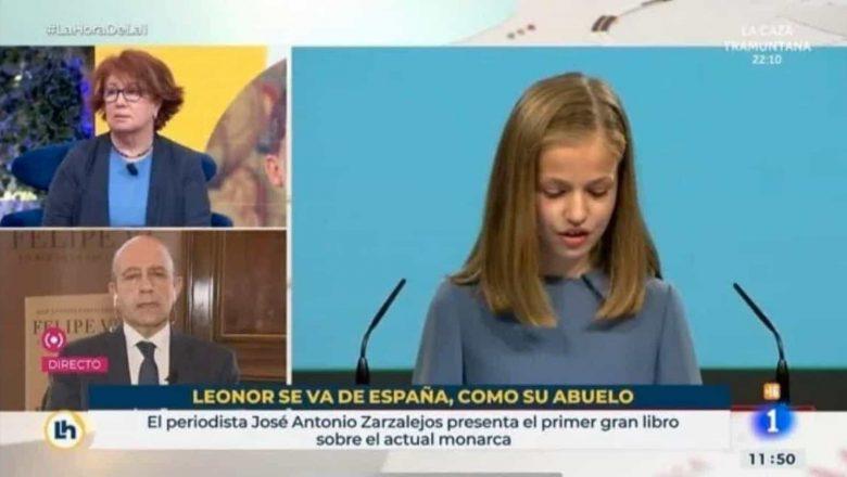 Uma nota de rodapé na TV espanhola causa demissões e uma onda de revolta