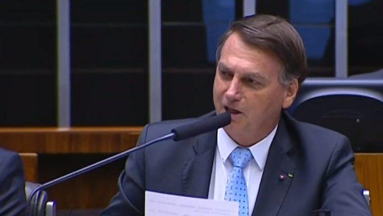 """VÍDEO: Bolsonaro rebate oposição na Câmara: """"Nos encontramos em 22"""""""