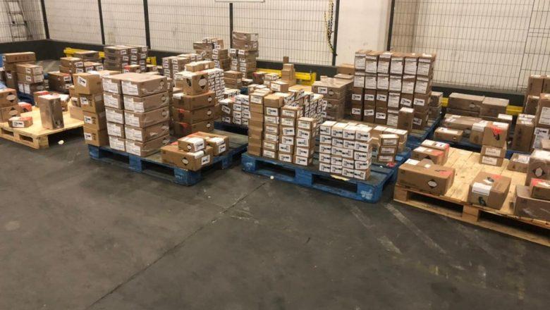 Mais de 60 armas e munições são furtadas de transportadora na Grande SP