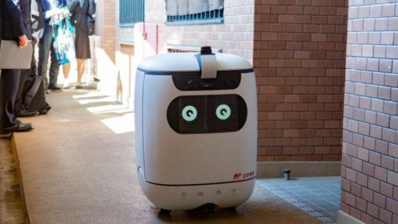 Correio japonês testa robô de entregas