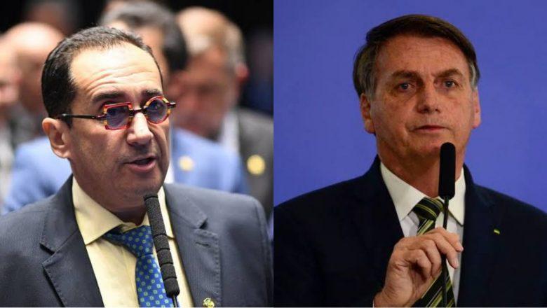 Em conversa com Kajuru, Bolsonaro pressiona por impeachment de ministros do STF