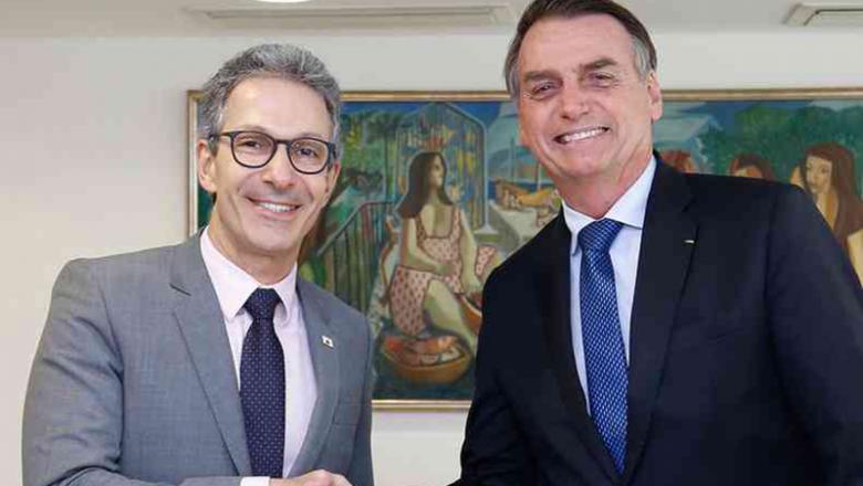 """Governador de Minas Gerais: """"Há uma certa perseguição a Bolsonaro"""""""
