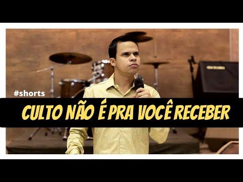@Pastor Elizeu Rodrigues. Culto não é pra você receber!