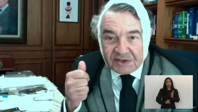 Marco Aurélio Mello faz cirurgia para retirada de câncer de pele
