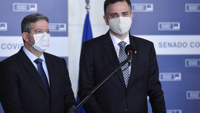 Pacheco e Lira falam com secretário-geral da ONU e pedem vacinas