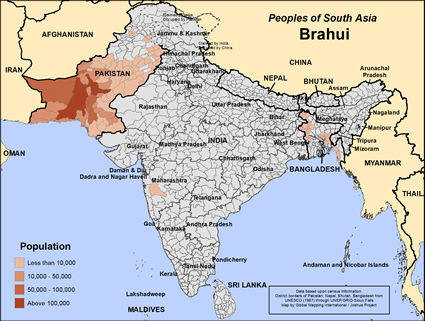PNA: Brahui no Paquistão