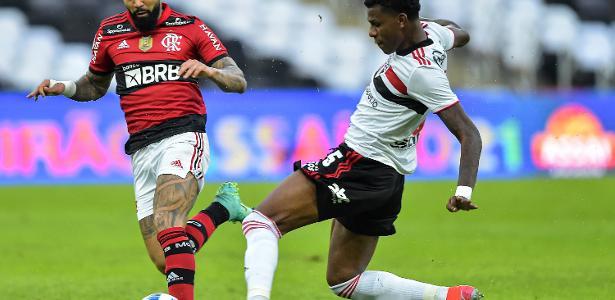 Arboleda lamenta desconcentração do São Paulo em gols de bola parada do Fla – UOL Esporte