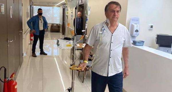 Boletim médico informa que presidente permanece evoluindo satisfatoriamente