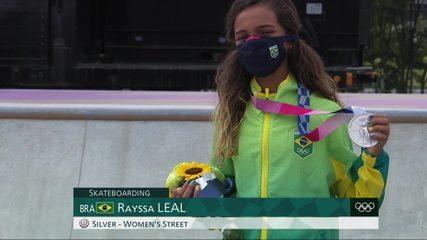 Rayssa Leal, a Fadinha, faz história e é prata no skate street nas Olimpíadas – globoesporte.com