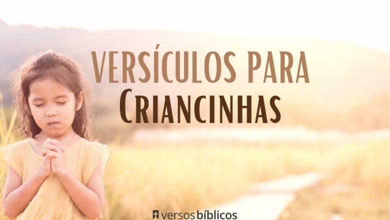 Versículos para Criancinhas – Para Ensinar sobre o Amor de Deus
